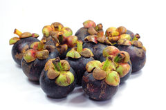 Fresh mangosteen. Fresh  mangosteen queen of all fruits Royalty Free Stock Image