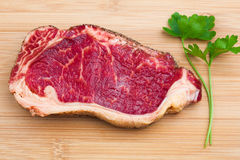 Fresh marbled meat Royalty Free Stock Photos