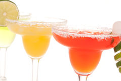 Fresh Margarita cocktails from blender Royalty Free Stock Photo