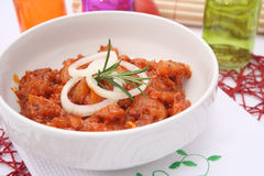 Fresh marinated meat Royalty Free Stock Image