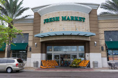 The Fresh Market Grocery Store Stock Photography