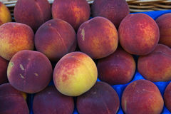 Fresh market peaches Paris Stock Photography