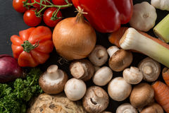 Fresh Market Vegetables Royalty Free Stock Image