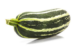 Fresh marrow on white Royalty Free Stock Photo