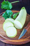 Fresh marrow Royalty Free Stock Photos