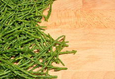 Fresh Marsh Samphire Stock Photography