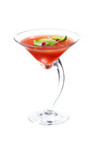 Fresh martini cocktail Stock Images