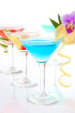 Fresh Martini Cocktails Royalty Free Stock Photo