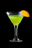 Fresh martini coctail Stock Photo