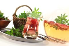 Fresh May wine Stock Images