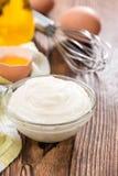 Fresh Mayonnaise Royalty Free Stock Photo