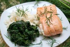Fresh meal Stock Image