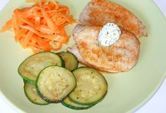 Fresh meal Stock Photos