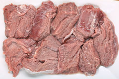 Fresh meat beef tenderloin Stock Photos