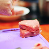 The fresh meat. Royalty Free Stock Photo