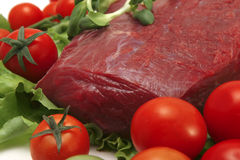 Fresh meat close-up Stock Photography