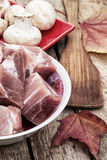 Fresh meat Stock Images