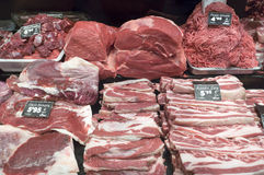 Fresh meat on display Stock Photography