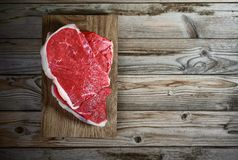 Fresh meat fillet Royalty Free Stock Photos