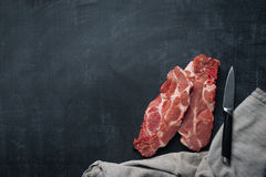 Fresh meat food background stock images