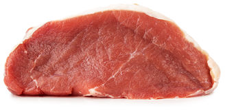 Fresh meat isolated on the white background Royalty Free Stock Photo