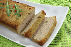 Meat pate. Royalty Free Stock Photo