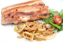 Fresh meat of a pork Stock Photos