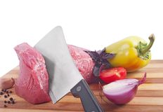 Fresh meat Royalty Free Stock Photos