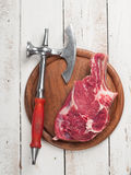 Fresh meat steak Royalty Free Stock Images