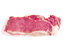 Fresh meat on a white background Royalty Free Stock Images