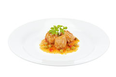 Fresh meatballs Royalty Free Stock Photography