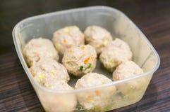 Fresh meatballs Royalty Free Stock Photography
