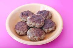Fresh meatballs Royalty Free Stock Image