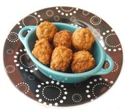 Fresh meatballs Stock Image