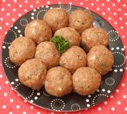 Fresh meatballs Stock Photo