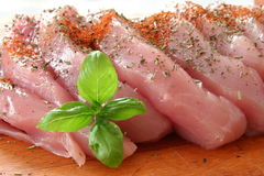 Fresh meats Royalty Free Stock Images