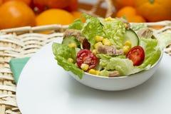 Fresh mediterranean salad Stock Image