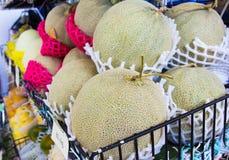 Fresh melon Royalty Free Stock Photos