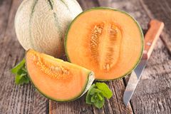 Fresh melon Stock Images