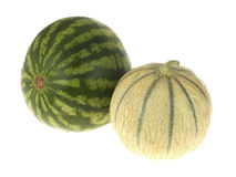 Fresh Melons Stock Photo