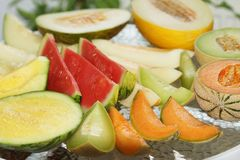 Fresh Melons Stock Image