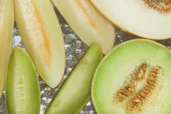 Fresh Melons Stock Images