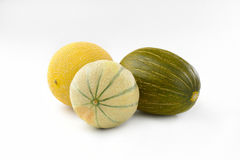 Fresh melons Stock Photography