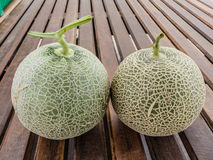 Fresh melons Royalty Free Stock Images