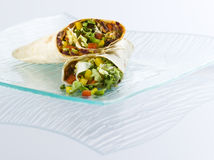Fresh mexican tortila Royalty Free Stock Photography
