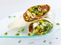 Fresh mexican tortilas Stock Photography