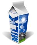 Fresh Milk Beverage Carton Royalty Free Stock Photography