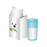 Fresh milk box icon Royalty Free Stock Image