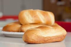Fresh milk bread Stock Photos