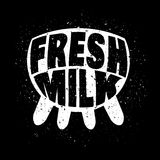 Fresh milk concept Stock Photos